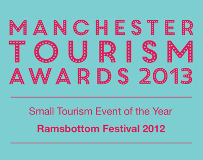 Manchester Tourism Award Winner - Small Tourism Event Of the Year 2012