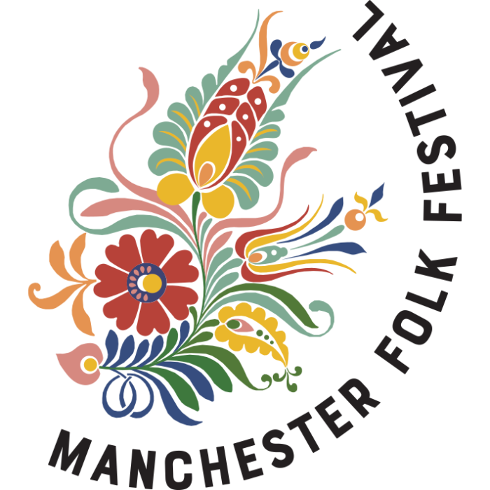 Logo for Manchester Folk Festival